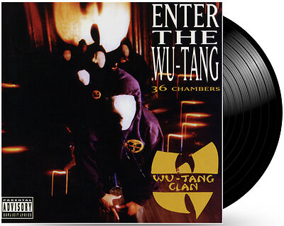 Wu Tang Clan Enter The Wu Tang 36 Chambers Vinyl Lp For Sale Online Ebay