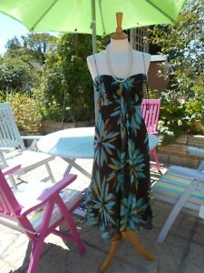 Tropical Races Dress Stylish Wedding 10 Monsoon Bnwot Size Silk 12 100 Ascot RrvqR