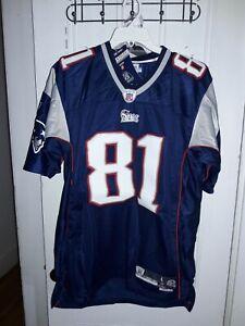 Randy Moss New England Patriots NFL Reebok Vintage football shirt ...