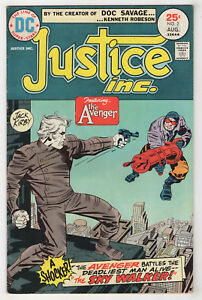 Justice-Inc-2-Aug-1975-DC-The-Avenger-Denny-O-039-Neil-Jack-Kirby-s