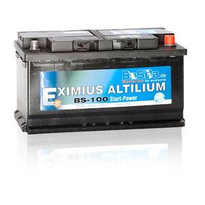 autobatterie bs100 100ah 12v starterbatterie pkw ers 88. Black Bedroom Furniture Sets. Home Design Ideas