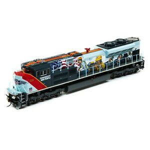 Athearn Genesis HO ATHG1110 SD70ACe UP # 1111 POWERED BY OUR PEOPLE (DCC) LED
