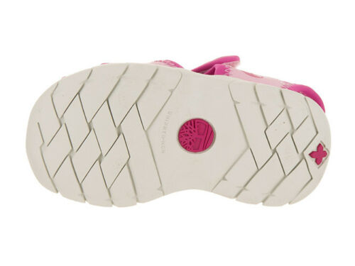 Timberland Little Harbor Girls Toddler//Little Kids Sandal Pink Pink TB04189R
