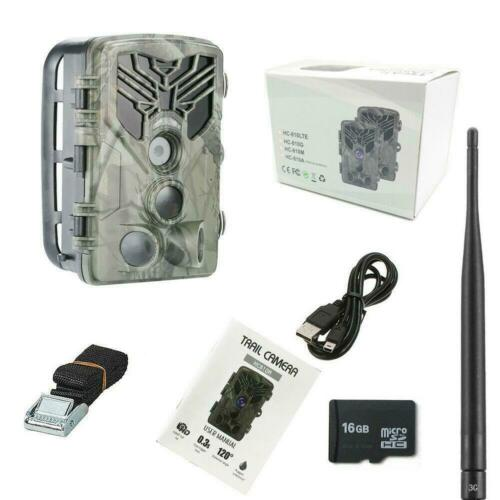 24MP 3G Cámara de Caza HC-810G 3PIR 120° Full HD 44 LED Hunting Trail camera