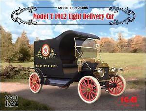 Icm 24008 Modèle Kit 1912 Voiture de livraison t-light 4823044404544