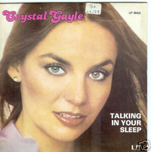 45-TOURS-CRYSTAL-GAYLE-TALKING-IN-YOUR-SLEEP-1978
