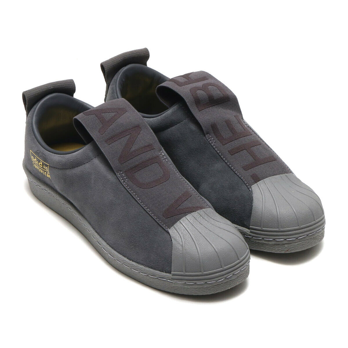 Neu Adidas Original damen Superstar BW3S Slip On CG3695 Grau Turnschuhe Gr 39 1 3
