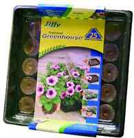 Professional Greenhouse Indoor Peat Moss 25 Plant Seed Starter Gardening Kit