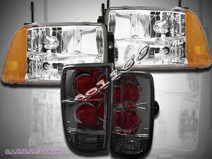 Image Is Loading 95 96 97 Chevy S10 Blazer Chrome Headlights
