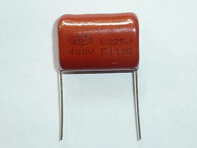 3pcs 250V 225 J 2.2uf 2200nf 2200000pf P20 CL21 CBB metal film capacitor