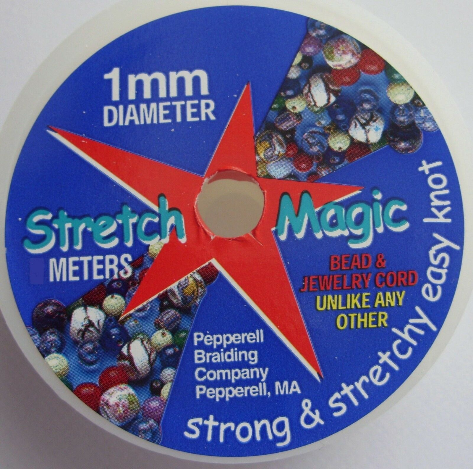 Clear Pepperell Stretch Magic 1mm Bead And Jewelry Cord Cord 1mmx100m 100m
