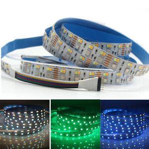 RGB-CCT-LED-Strip-5050-SMD-CW-RGB-WW-RGBW-RGBWW-flexible-Led-Tape-Light-12V-24V