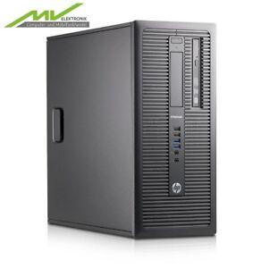 HP EliteDesk 800 G1 Intel i7 4x 3,6GHz 1000GB HDD 256GB SSD* 16GB DVD-RW Win 10