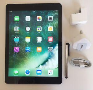 #GRADE A# Apple iPad Air 64GB, Wi-Fi + Cellular (Unlocked), 9.7in - Space Grey