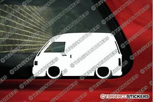 2x lowered jdm car outline stickers for daihatsu hijet s80 s82 image is loading 2x lowered jdm car outline stickers for daihatsu publicscrutiny Image collections