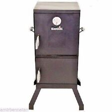 Grill Wood Chip Cooker Vertical Charcoal Smoker Barbecue Outdoor Patio BBQ Meat