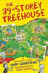 NEW-The-39-Storey-Treehouse-By-Andy-Griffiths-Paperback-Free-Shipping