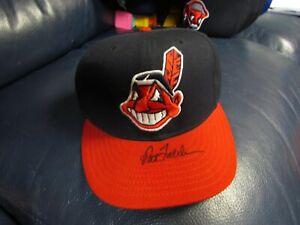 Pat Tabler Autographed Baseball Hat Cleveland Indians