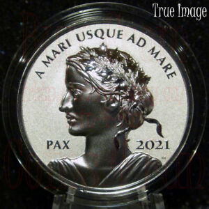 2021 Canada 1 oz Silver Peace Dollar Ultra High Relief