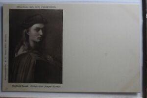 AK-Deutschland-Bildnis-eines-jungen-Mannes-Raffale-Santi-ungebraucht-PF439