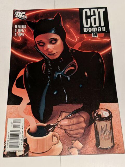 Catwoman #56 August 2006 DC Comics Pfeifer D Lopez A Lopez ADAM HUGHES
