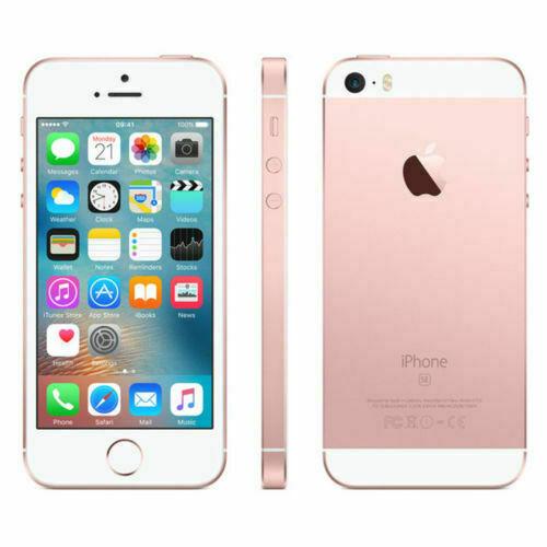 Apple Unlocked iPhone SE 1st-Gen Smartphone, 16GB Rose Gold (T-Mobile)