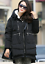 Casual Womens thicken down cotton coat Hooded Jacket Slim Long Parka Outwear