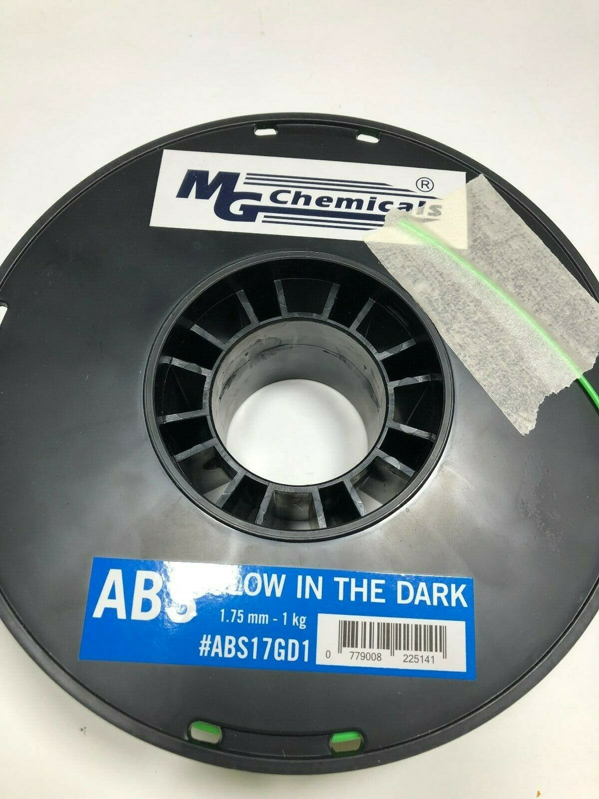 (Glow in the Dark Green) - MG Chemicals ABS 3D Printer Filament, 1.75 mm, 1