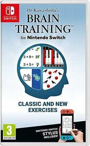 Dr Kawashima's Brain Training (Nintendo Switch, 2020) Brand New - Region Free