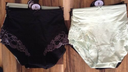 4 ladies ex store mixed low leg briefs for just £5.00