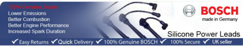 MERCEDES 124 260 e 4 MATIC 09.85-10.92 Cavi Di Accensione Bosch Spark HT Lead B332