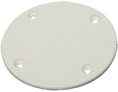 Cover Plate 4 1//8In Artic Whit Seachoice 39621