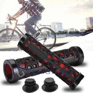 New-Mountain-MTB-BMX-Cycling-Bike-Bicycle-Lock-On-Handlebar-Grips-Anti-skid