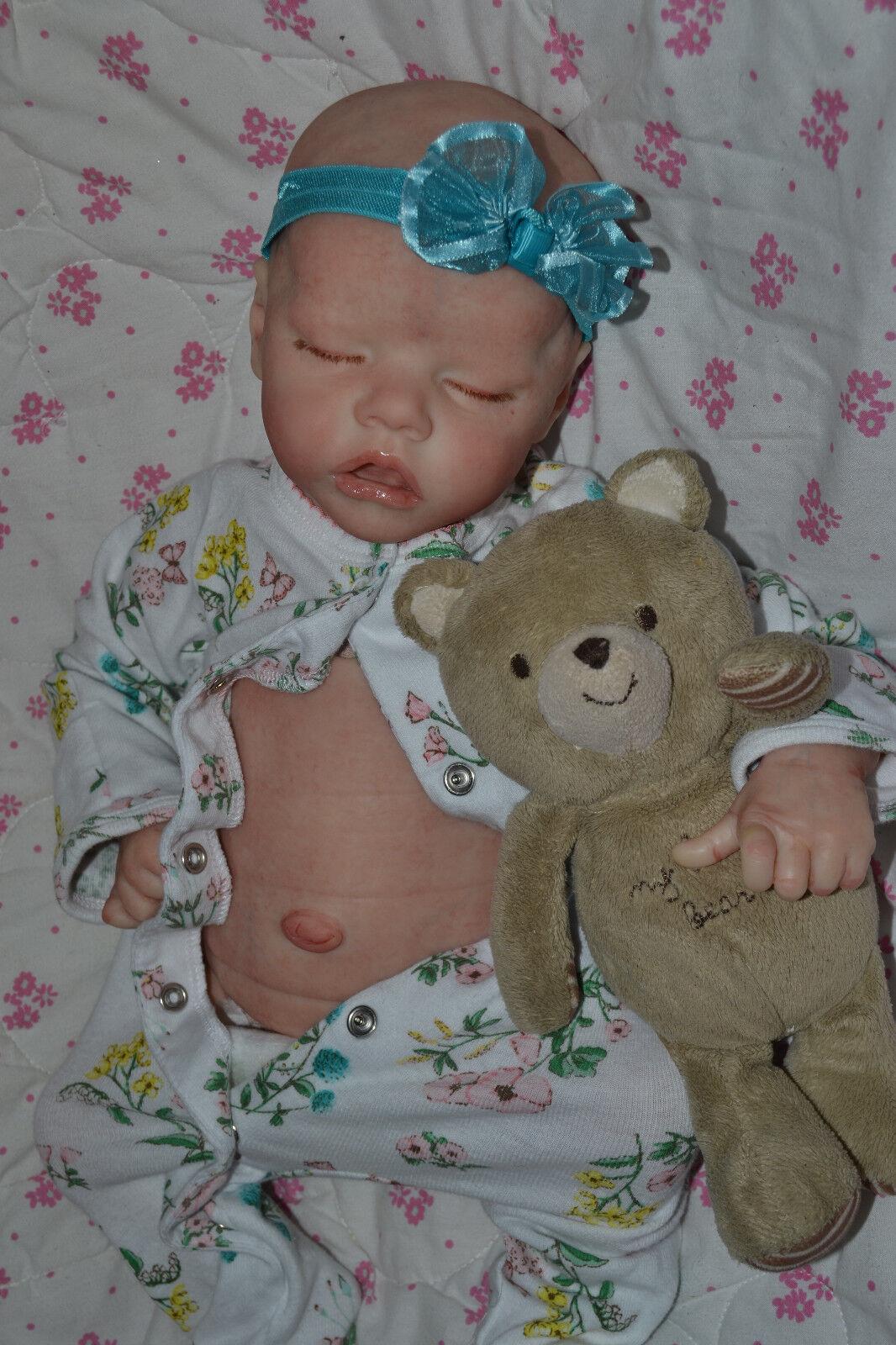 Orden de encargo Muñeca Reborn Twin 17  Bonnie marrón  Reborns por Jill