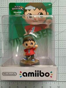 Villager Super Smash Bros Amiibo NA 2nd Print BRAND NEW SEALED Nintendo