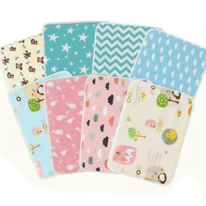 Baby-Infant-Waterproof-Urine-Mat-Diaper-Nappy-Kid-Bed-Changing-Cover-Pad-1Pc
