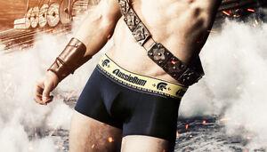 New-Aussiebum-Black-Gladiator-Hipster-Men-039-s-Underwear
