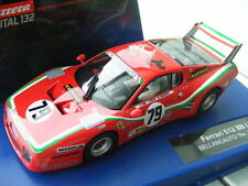 "Carrera Digital 132 30577 Ferrari 512 BB LM BELLANCAUTO ""NO. 79"", 1980 NEU OVP"