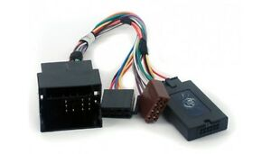 Ford Mondeo II, S-Max, Transit, Focus C307; Car Radio Adapter + Steering Wheel