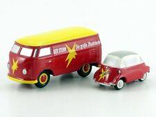"""Schuco Set """"Der Stern"""" BMW Isetta und VW T1 # 50582600"""