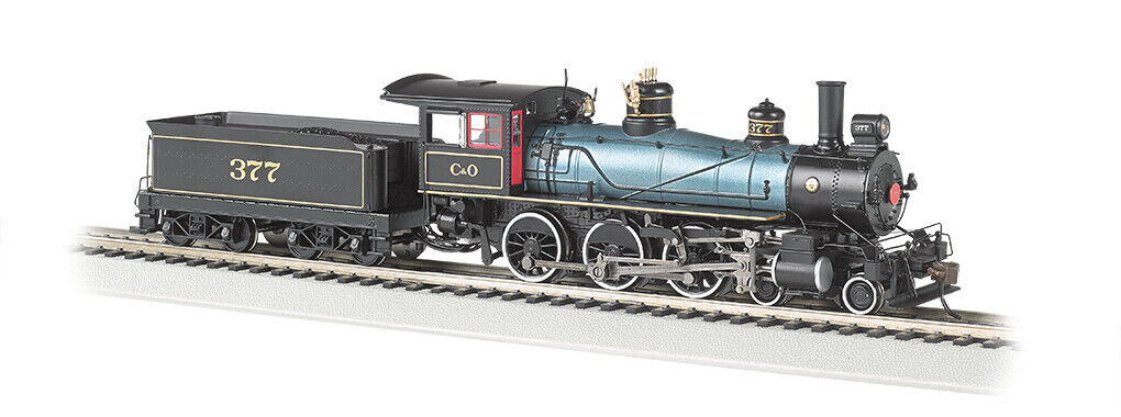 HO-Gauge - Bachmann - C&O 4-6-0 Baldwin 52  w  DCC Sound