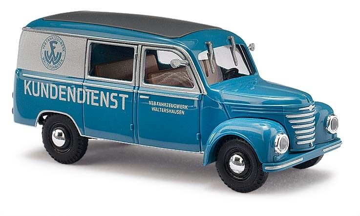 Busch 51288, Framo   BARKAS VAN,fahrzeugw. walthershausen, H0 Model 1 87