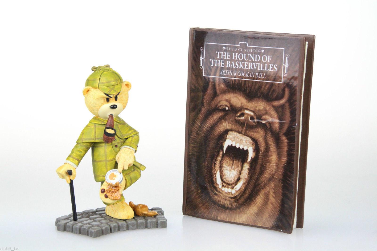 Sherlock Holmes Bad Taste Bears Sammlerstück Btb Btb Btb Bär Handbemalt Figürchen Neuer 88317f