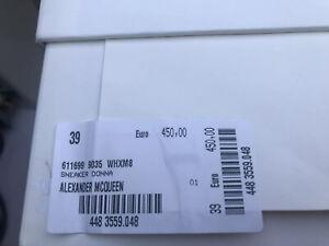 Alexander McQueen box Empty shoe box
