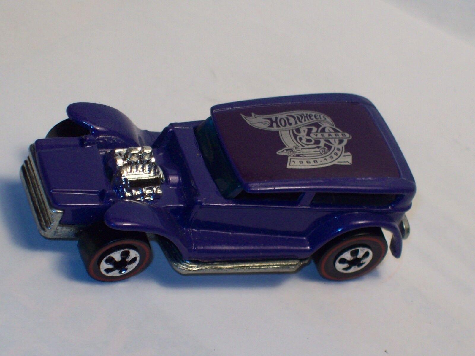 Rare 30 YRS  Mattel Hot Wheels Vintage Line  Redline   1969  THE DEMON