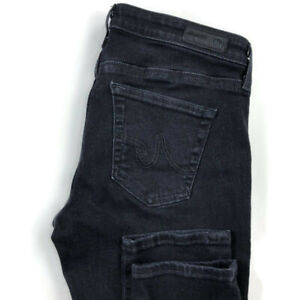 AG-Adriano-Goldschmied-Womens-29R-The-Legging-Super-Skinny-Jeans-Dark-Wash