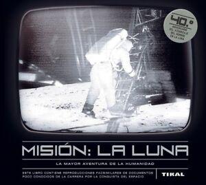 Livre de Collection: Misión: la luna - 63 Pages en Espagnol RELIÉ Import España