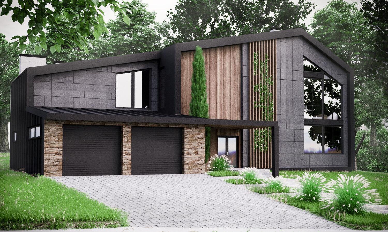 Modern House Plan Building Plans Blauprints & Material List 2018  306 m  2
