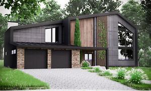 100% De Qualité Moderne Maison Plan Construction Plans Plans & Matériel Liste 2018 306 M #2-afficher Le Titre D'origine