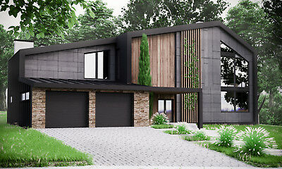 home building blueprints modern house plan building plans blueprints material list 2018 306 m 2 ebay 3375
